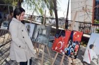 YÜKSEK ÖĞRETİM - Şırnak'ta 15 Temmuz Resim Sergisi Açıldı
