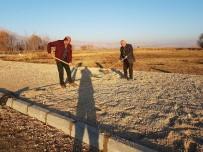 SINDELHÖYÜK - Sultan Sazlığı'na Yeni Kamelyalar Yapılıyor