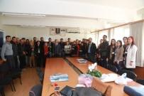 AHMET ÇELEBI - Tahmazoğlu Öğretmenler Gününü Mezun Olduğu Okullarda Kutladı