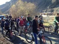 BİSİKLET TURU - Uzundere'de Bisiklet Turu Ve Basketbol Turnuvası Düzenlendi