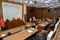 NECATI ŞENTÜRK - Vali Necati Şentürk, 2017 Yılı Bütçe Çalışmalarını Değerlendirdi