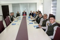 Vali Tapsız, Jandarma Ve Emniyetten Asayiş Ve Güvenlik Brifingi Aldı