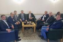 FARUK ÇATUROĞLU - Yalman, Bakan Özlü'ye Erdemir'i Şikayet Etti