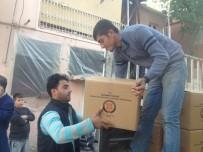 ABDULLAH ERIN - Adıyaman Valiliğinden Irak Ve Suriyelilere Gıda Yardımı