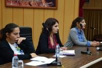 ŞİDDET MAĞDURU - Akdeniz Belediyesi'nde 'Kadına Yönelik Şiddet' Toplantısı