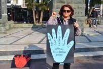 KADIN PLATFORMU - Ayvalıklı Kadınlar Meydanlara İndi