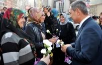 KADINA YÖNELİK ŞİDDETLE MÜCADELE - Başkan Uysal, Kadına Şiddete Karşı Çıktı