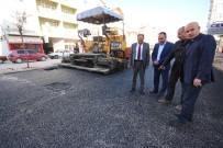 ALI ÖZDEMIR - Beyşehir'de Şehit İbrahim Bey Caddesi Asfaltlanıyor