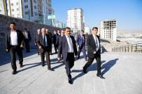 SOSYAL TESİS - Emlakçılar Odası Üyeleri Şehitkamil'de İmara Açılan Bölgeleri Gezdi