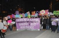 KADIN CİNAYETLERİ - Eskişehirli Kadınlardan Şiddet Protestosu