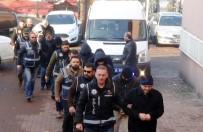 BARTIN EMNİYET MÜDÜRLÜĞÜ - FETÖ Soruşturmasında Gözaltındaki Akademisyenler Adliyeye Çıkartıldı