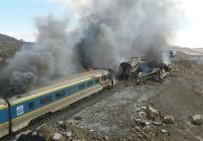YOLCU TRENİ - İki Tren Kafa Kafaya Çarpıştı Açıklaması 15 Ölü
