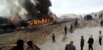 YOLCU TRENİ - İki Tren Kafa Kafaya Çarpıştı Açıklaması Ölü Ve Yaralılar Var
