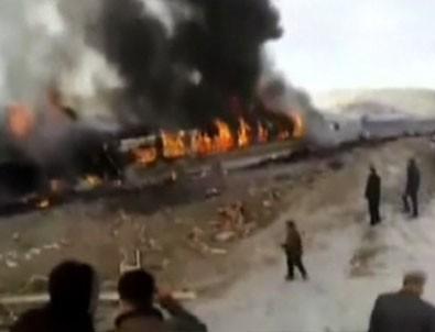 İran'da tren kazası: 36 ölü