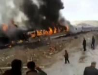 TREN KAZASı - İran'da tren kazası: 36 ölü