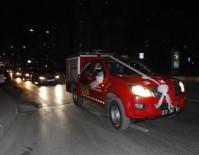İTFAİYE ARACI - İtfaiye Aracını Gelin Arabasına Çevirdiler