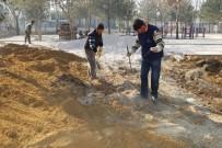 Karaman Belediyesi, Gülistan Parkı'nda Yenileme Çalışması Başlattı