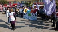 YOLSUZLUK - Kıbele Kadınları Kadına Şiddet Günü'nde Sokakta