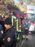 MEDİKAL KURTARMA - Krom Madeninde Mahsur Kalan İşçi Kurtarıldı