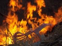 FELAKET - Kuraklık Nedeniyle Örtü Yangınları Devam Ediyor