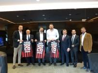 HİDAYET TÜRKOĞLU - Nesine.Com Eskişehir Basket Yönetiminden TBF'ye Ziyaret
