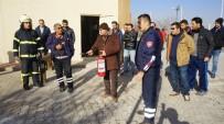 YANGIN TATBİKATI - Nevşehir Belediyesi Personeli Yangın Tatbikatı Yaptı