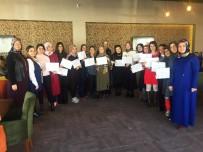 İĞDE - Pursaklar'da 18 Kadın Hızlı Yazma Sertifikası Aldı