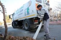 KALDIRIMLAR - Talas'ta Teknolojik Yaprak Temizliği