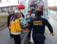 KAYGıSıZ - Tavşanlı'da Trafik Kazası Açıklaması 7 Yaralı