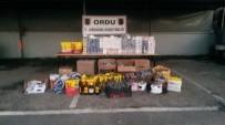 ROMANYA - Ünye'de Kaçak Sigara Ve İçki Ele Geçirildi