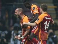 WESLEY SNEIJDER - Wesley Sneijder gol orucunu bozdu