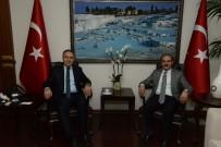 AHMET ALTIPARMAK - Yozgat Valisi Yurtnaç, Denizli Valisi Altıparmak'ı Ziyaret Etti