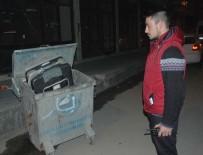 ÇÖP KONTEYNERİ - Adana'da Şüpheli Bavul Paniği