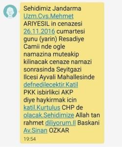 CHP'den skandal mesaj