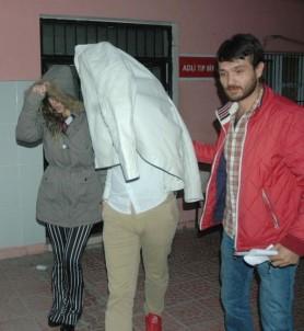 Nişanlı çift 1 kilo 170 gram kokain ile yakalandı
