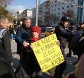 ARBEDE - Başkent'te Kadın Eyleminde Arbede