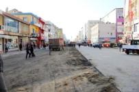 BİSİKLET YOLU - Dörtyol'da Cadde Genişletme Çalışması
