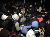 TAŞBURUN - Ege'de 1 Haftada 452 Kaçak Göçmen Yakalandı