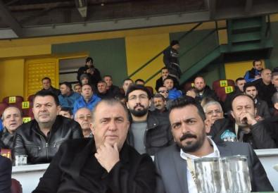Fatih Terim, 3. Lig maçını izledi