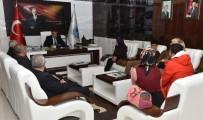 SELAHATTIN GÜRKAN - Malatya Otizm Derneğinden Gürkan'a Ziyaret