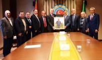 TÜRKIYE ZIRAAT ODALARı BIRLIĞI - Muğla'nın 'Tarımsal' Sorunları Ankara'ya Taşındı