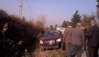 KOZCAĞıZ - Otomobil Takla Attı, Sürücü Ölümden Döndü