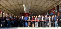 PAZARCI ESNAFI - Turan Kapalı Pazaryeri Törenle Hizmete Açıldı