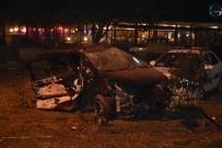 YOLCU OTOBÜSÜ - Akhisar'da Kaza Açıklaması 15 Yaralı