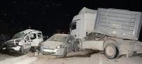 YENIKENT - Aksaray'da Tır, İki Araca Çarptı Açıklaması 1 Ölü