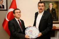 MUSTAFA TOPRAK - Bakan Tüfenkci Ve Kılıç'tan İnönü Üniversitesi Rektörüne Ziyaret