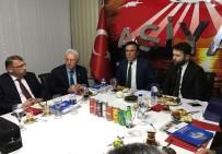 OSMAN YıLMAZ - Başkan Genç, Ankara'da İşadamları İle Buluştu