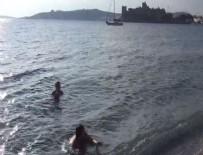 GÜMBET - Bodrum'da Kasım ayında deniz keyfi