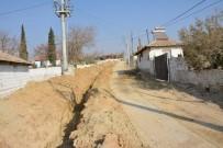 KANALİZASYON ÇALIŞMASI - Caberkamara Mahallesi'nin İçme Suyu Hattına Yenileme
