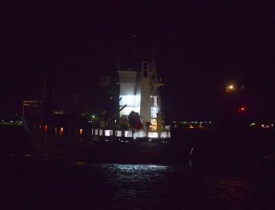 Çanakkale Boğazı'nda gemi kazası